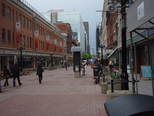 sparks street mall